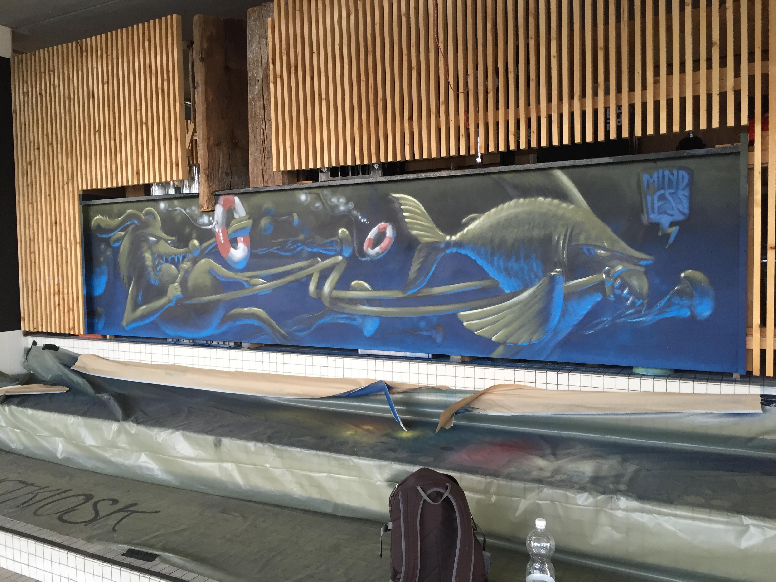 Mit diesem Bild unterstützte ich das diesjährige Neusicht Festival in Luzern.Eine Veranstaltung des Vereins  Viva Con Agua Schweiz.