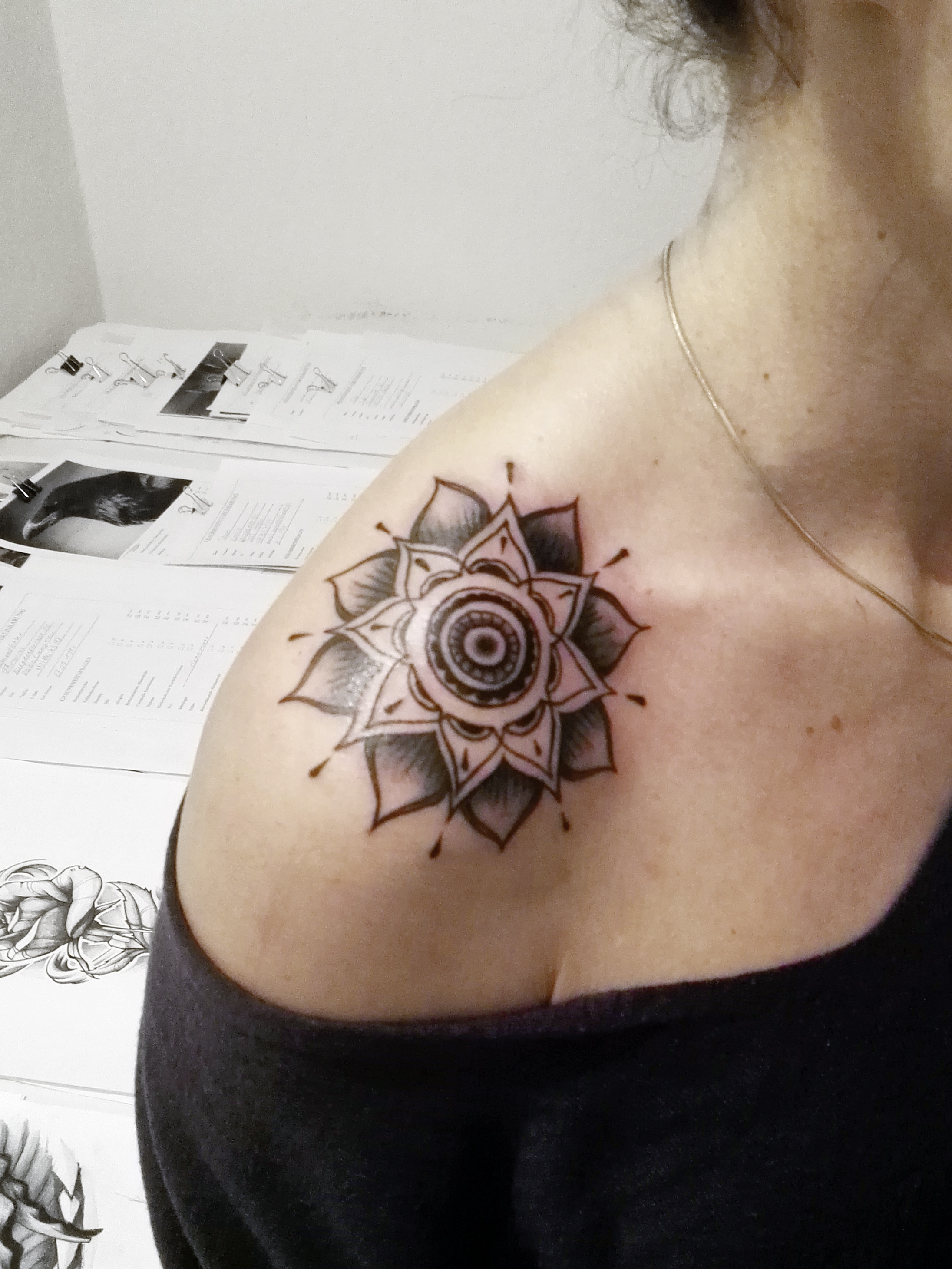 Tintenherz Tattoo Shop – Mindless Colorpartner – Tattoo – Mandala 2017